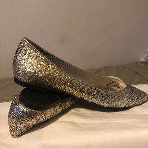 Zara glitter shoes